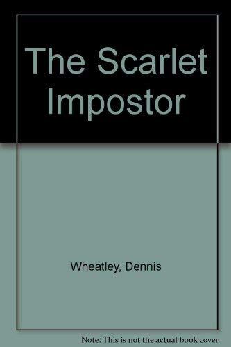 9780090410521: The Scarlet Impostor