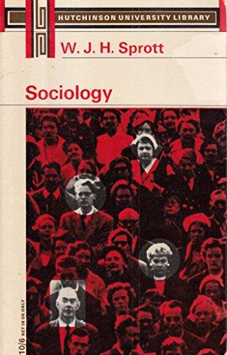 9780090426225: SOCIOLOGY (UNIV. LIB.)
