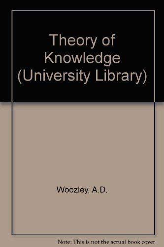 9780090445714: Theory of Knowledge