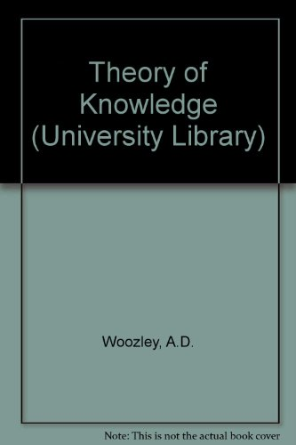 9780090445721: Theory of Knowledge