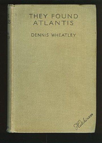 9780090446124: They Found Atlantis