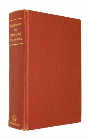 Hutchinson's new 20th century encyclopedia: Horsley E.M. (ed)