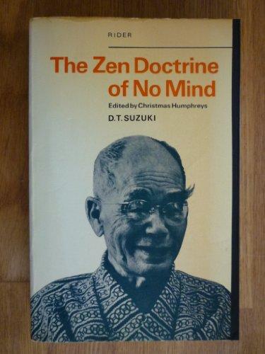 9780090483716: The Zen Doctrine of No Mind