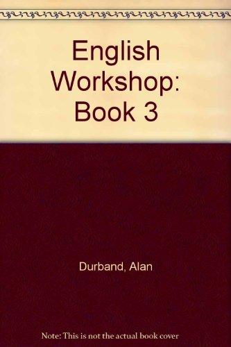 9780090511822: English Workshop: Book 3