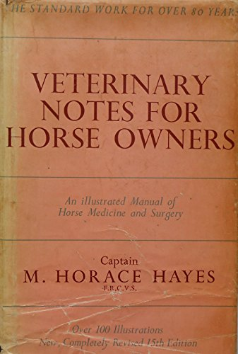 9780090529315: Veterinary Notes for Horse Owners