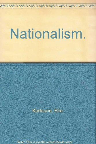 9780090534432: Nationalism.