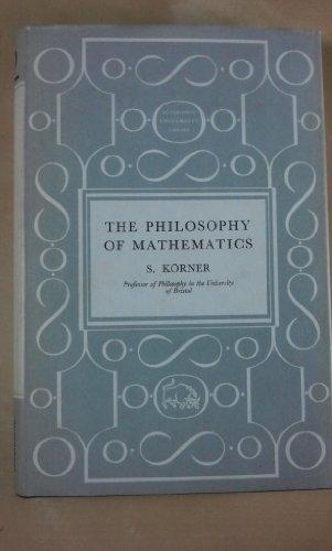 9780090566419: Philosophy of Mathematics (University Library)