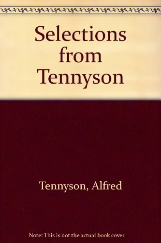 9780090569618: Selections from Tennyson