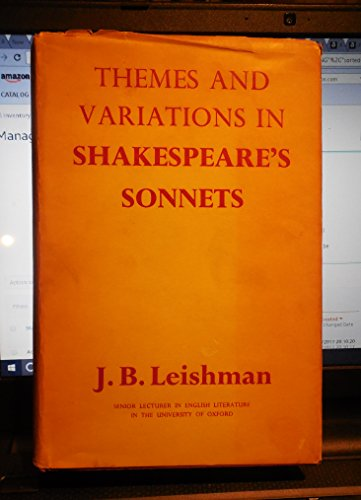 9780090598113: Themes and variations in Shakespeare's sonnets
