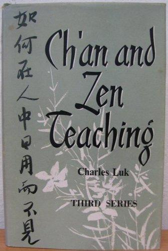 9780090627202: Ch'an and Zen Teaching