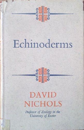9780090659937: Echinoderms