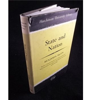 9780090719402: State and Nation