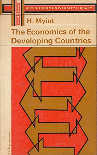 9780090731152: The economics of the developing countries