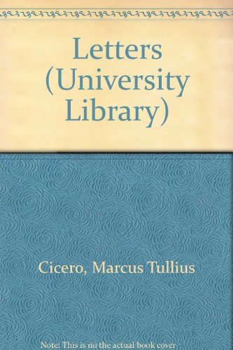 9780090786916: Letters (University Library)