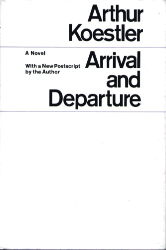 9780090808205: Arrival and Departure