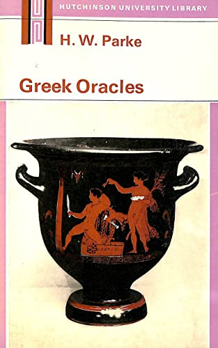 9780090841110: Greek Oracles (University Library)