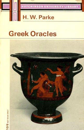 9780090841110: Greek Oracles (Univ. Lib.)