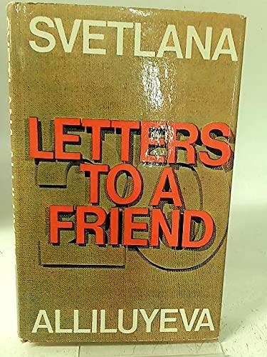 9780090858804: TWENTY LETTERS TO A FRIEND.