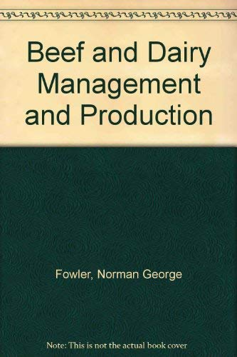 9780090859207: Beef and dairy management and production