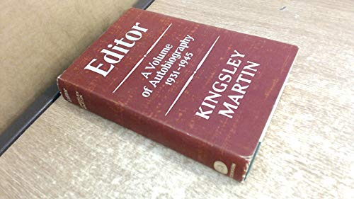 9780090860401: Editor: a second volume of autobiography 1931-45