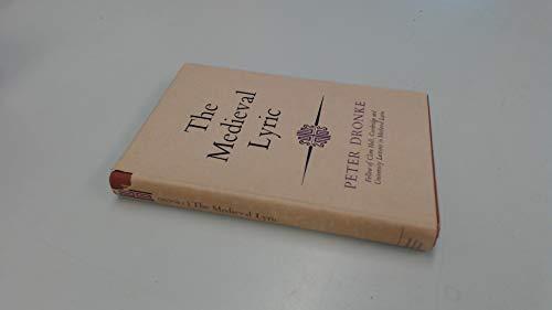 9780090864508: Medieval Lyric (University Library)