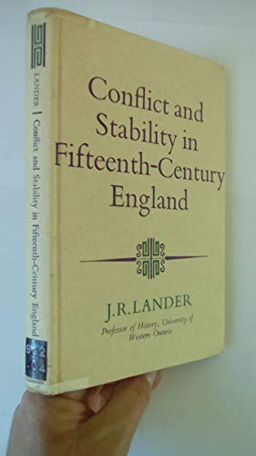 9780090957408: Conflict and Stability in Fifteenth Century England (University Library)