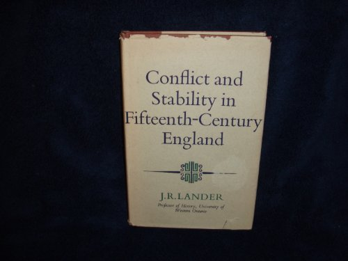 9780090957408: Conflict and stability in fifteenth-century England (Hutchinson university library: History)