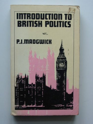 9780090968916: Introduction to British Politics