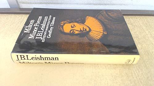 Milton's Minor Poems: J. B. Leishman.