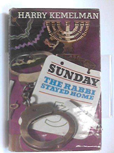 9780090991204: Sunday the Rabbi stayed home