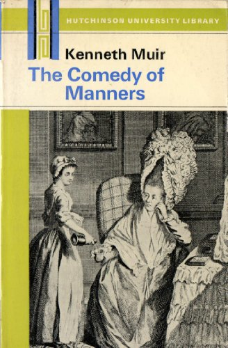 9780091004811: Comedy of Manners