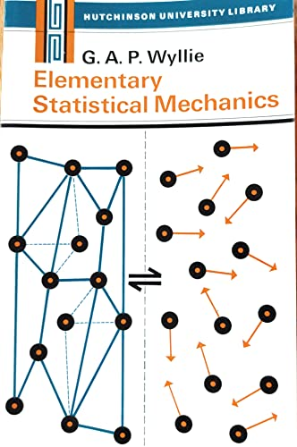 9780091013219: Elementary Statistical Mechanics