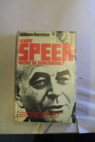 9780091015107: Albert Speer--victim of Nuremberg?