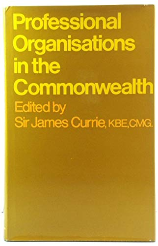 9780091019402: Professional organisations in the Commonwealth;
