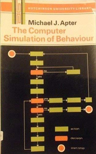 9780091027216: Computer Simulation of Behaviour