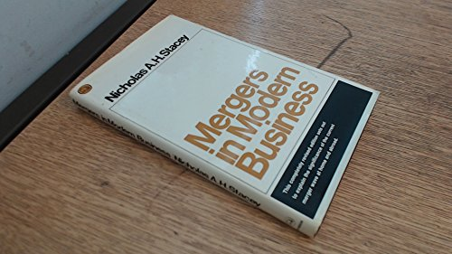 9780091030100: Mergers in modern business