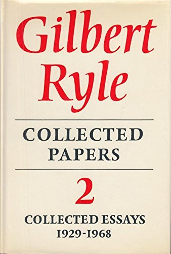9780091044206: Gilbert Ryle - Collected Papers 2 Collected Essays 1929 - 1968