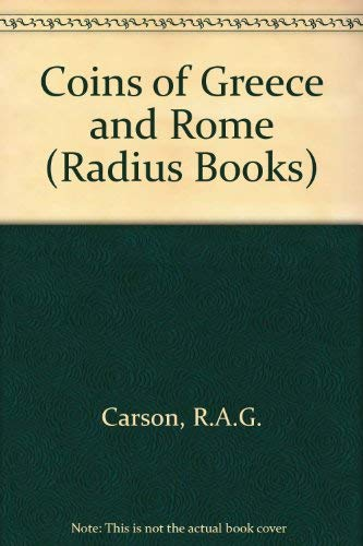 9780091048112: Coins of Greece and Rome. Volume one