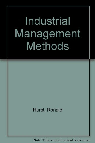 9780091049713: Industrial Management Methods