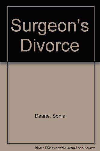 9780091060107: Surgeon's Divorce