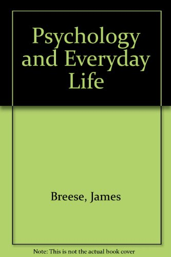 9780091077006: Psychology and everyday life