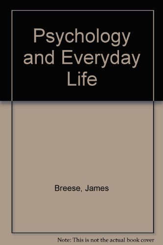9780091077013: Psychology and Everyday Life