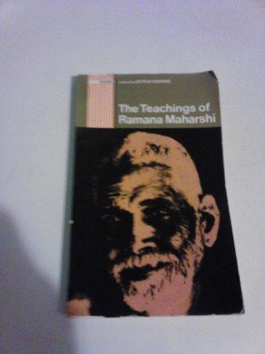 9780091078911: The Teachings of Ramana Maharshi