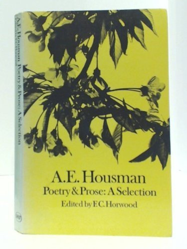 9780091087715: Poetry and Prose: A Selection