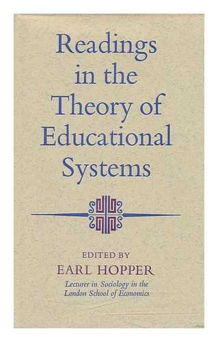 9780091092306: Readings in the theory of educational systems (Hutchinson university library)