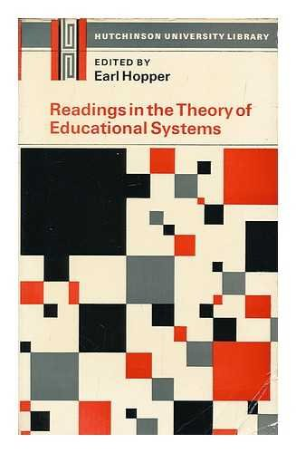 9780091092313: Readings in the Theory of Educational Systems (University Library)