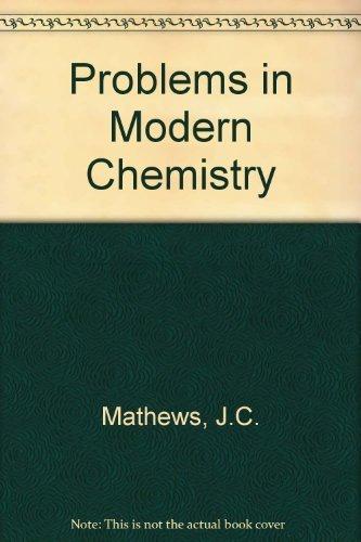 9780091092504: Problems in Modern Chemistry