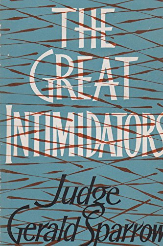 9780091095000: Great Intimidators