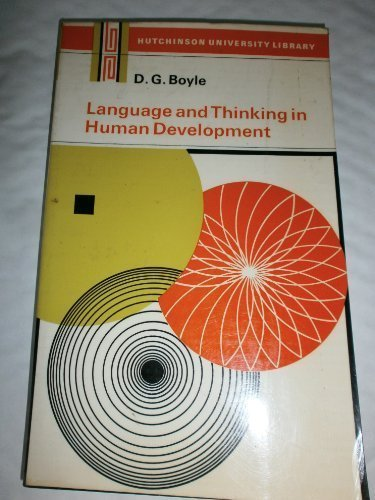 9780091095918: Language and thinking in human development,