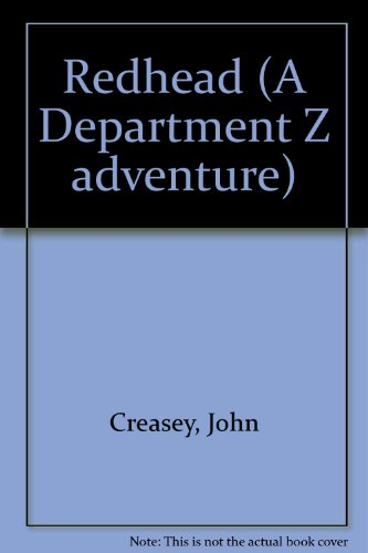 9780091107505: Redhead (A Department Z adventure)